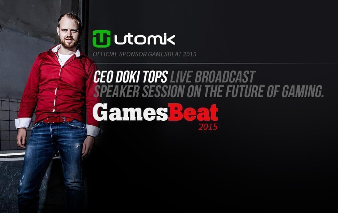 CEO Doki Tops live broadcast speaker session on the future of gaming