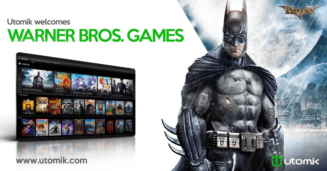 Utomik welcomes Warner Bros. Games