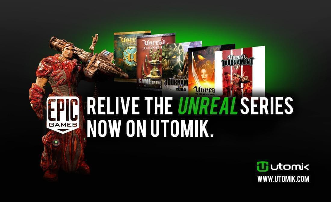 Relive the Unreal series now on Utomik