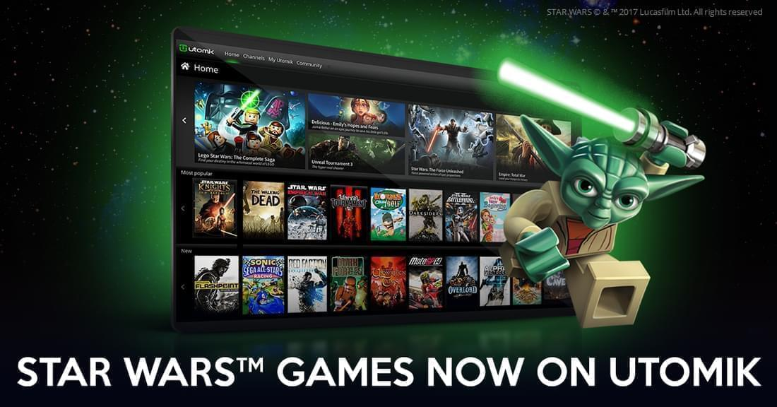 Star Wars games now on Utomik